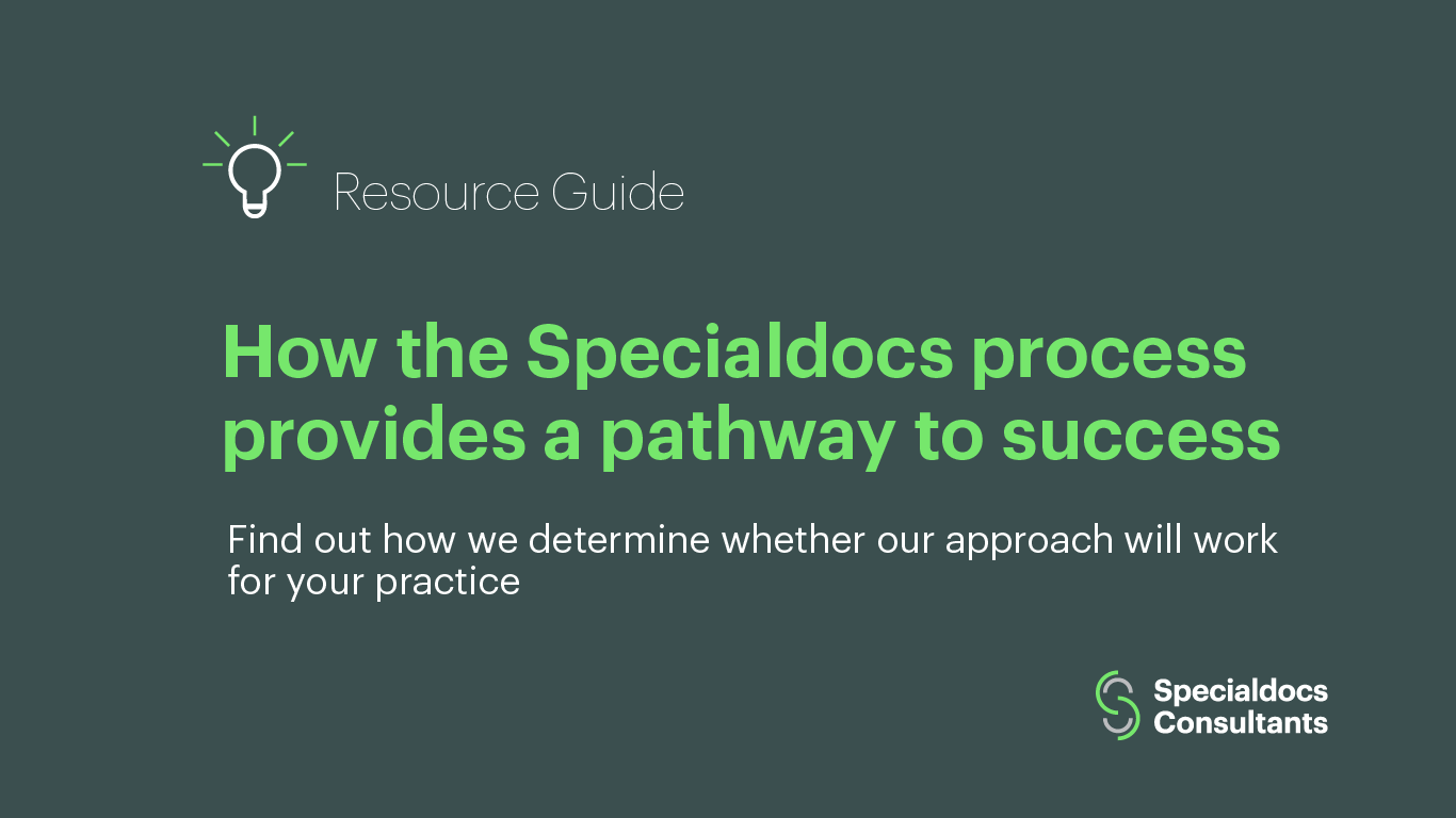 How the Specialdocs process provides a pathway to success